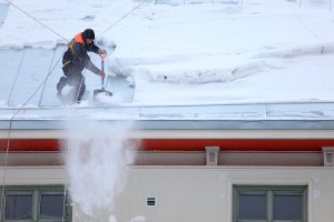 Ice Dams on Wautoma Roofs