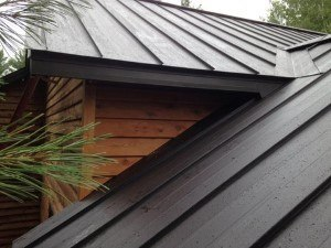 how to install a metal roof on my shed